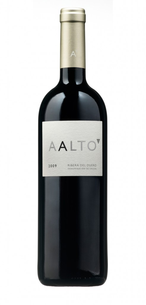 Aalto wine bottle design