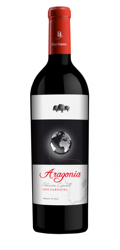 Aragonia wine bottle design