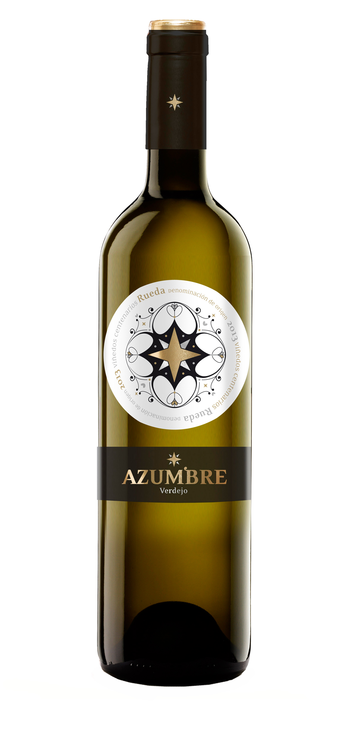 Azumbre wine bottle design