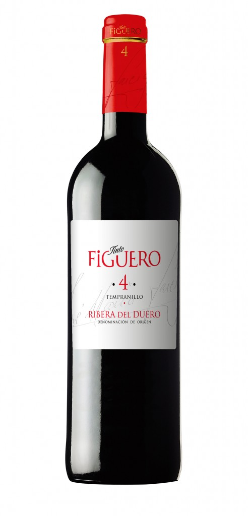 Tinto Figuero 4 wine bottle design