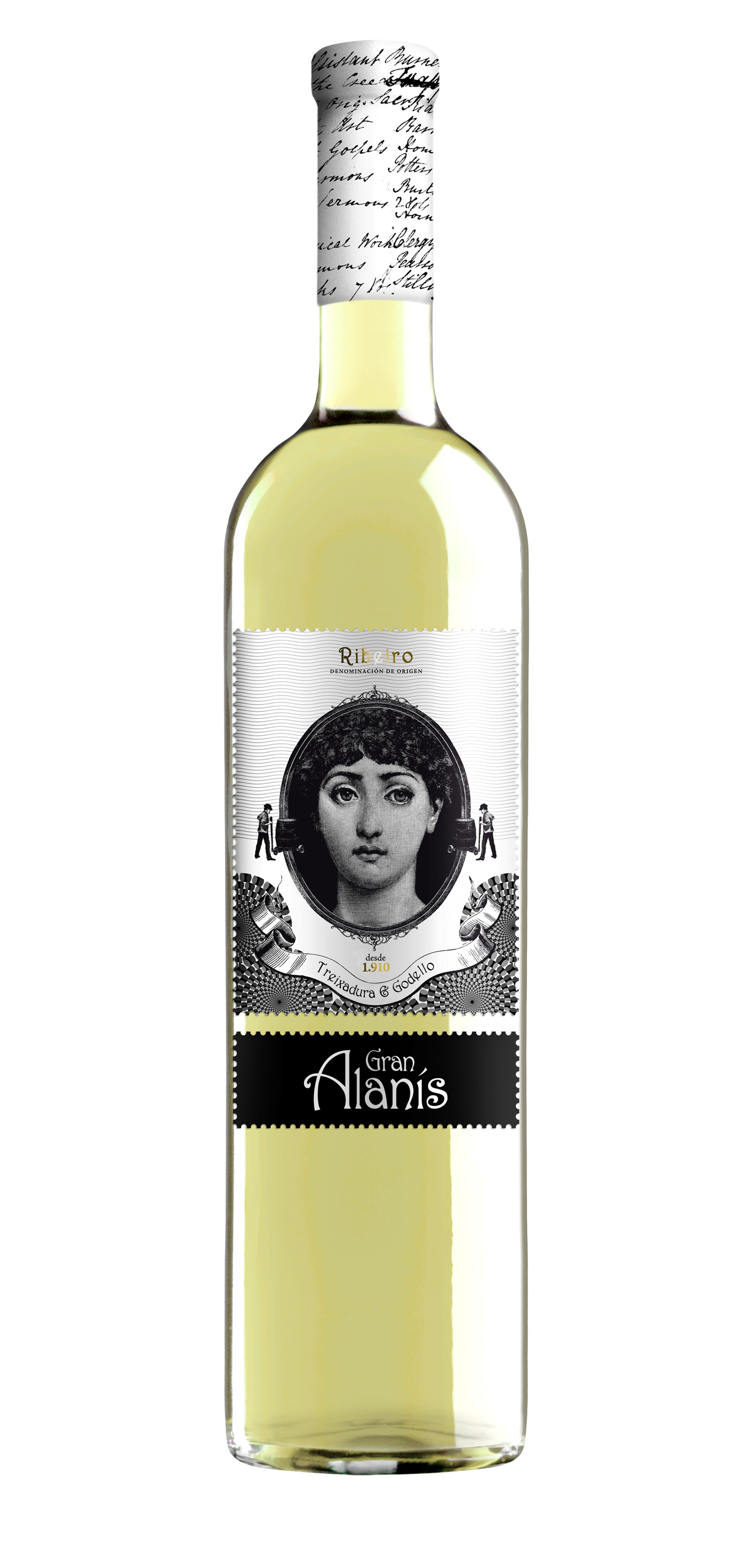 Gran Alanis wine bottle design