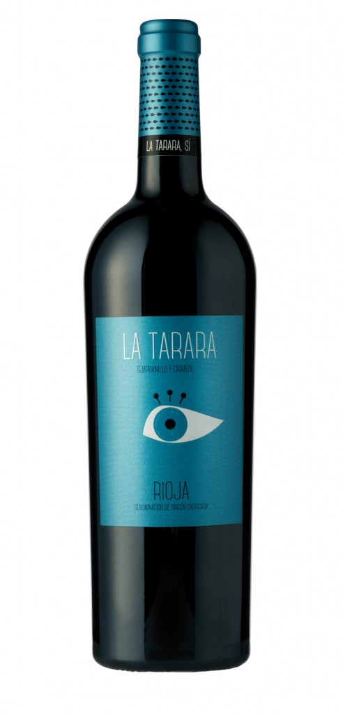 La Tarara wine bottle design