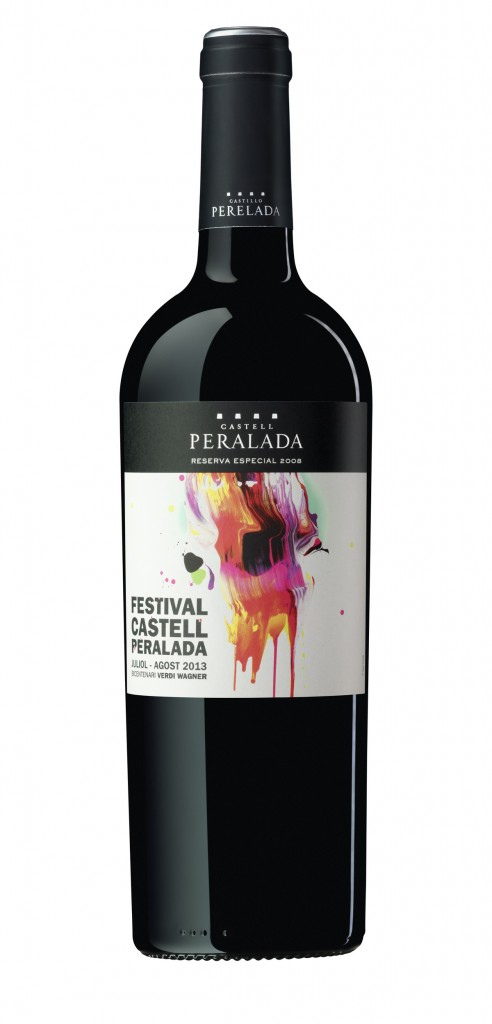 Peralada Reserva Especial wine bottle design