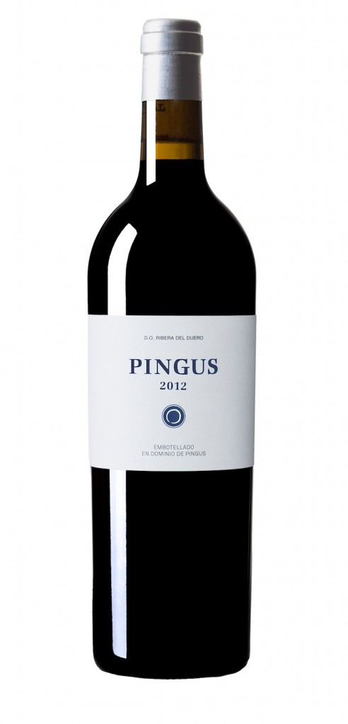 Pingus wine bottle design
