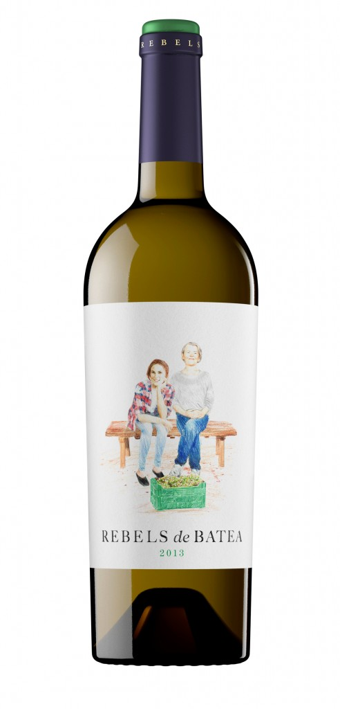 Rebels de Batea wine bottle design