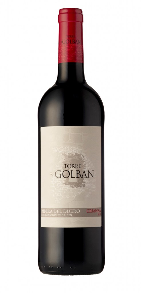 Torre de Golban wine bottle design