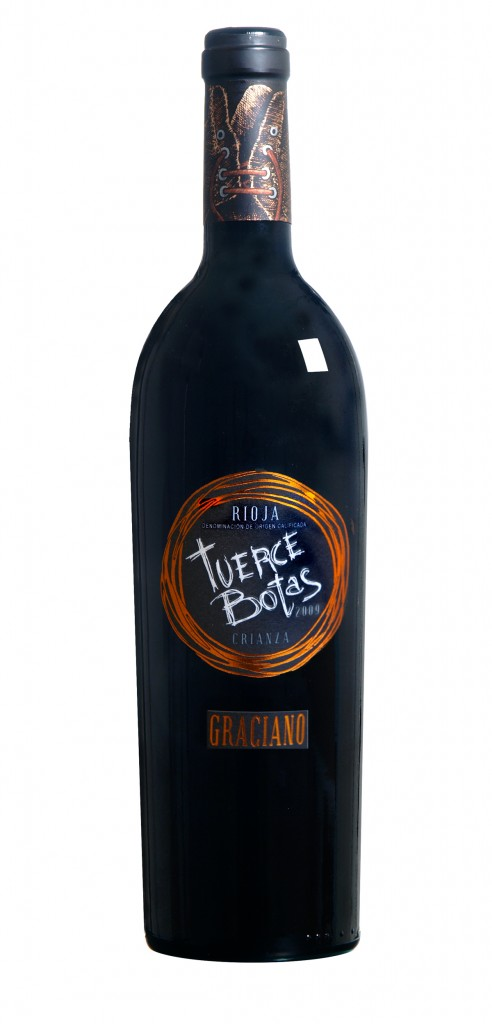 Tuerce Botas wine bottle design