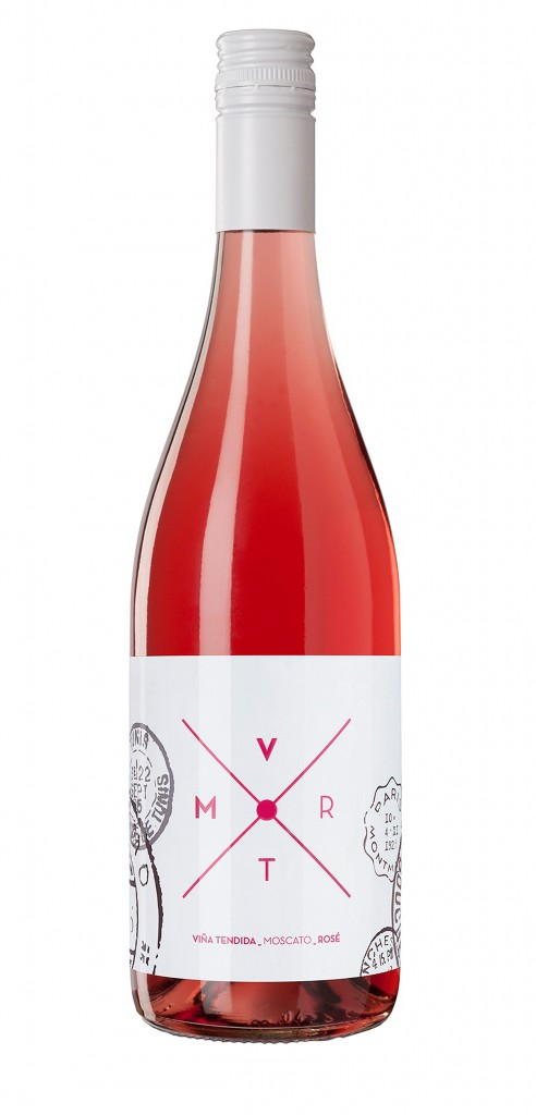 VMRT wine bottle design