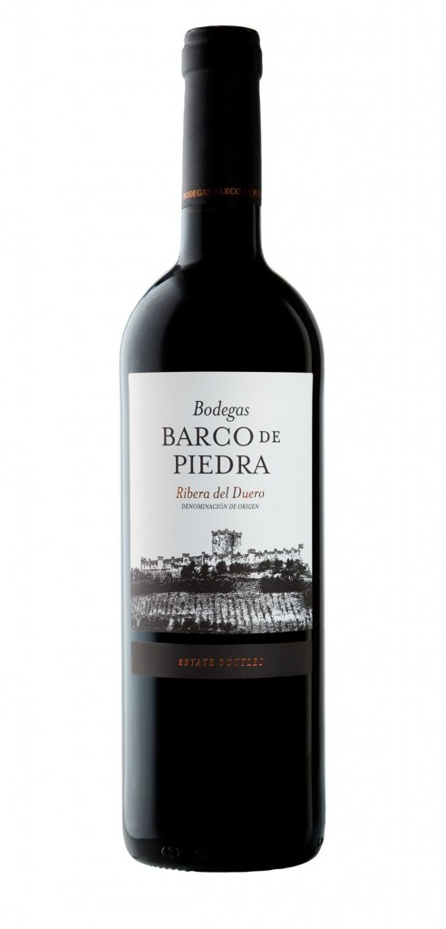 Barco de Piedra wine bottle design