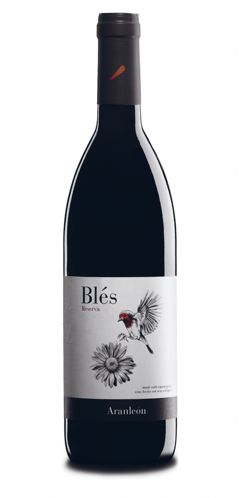 Blés wine bottle design