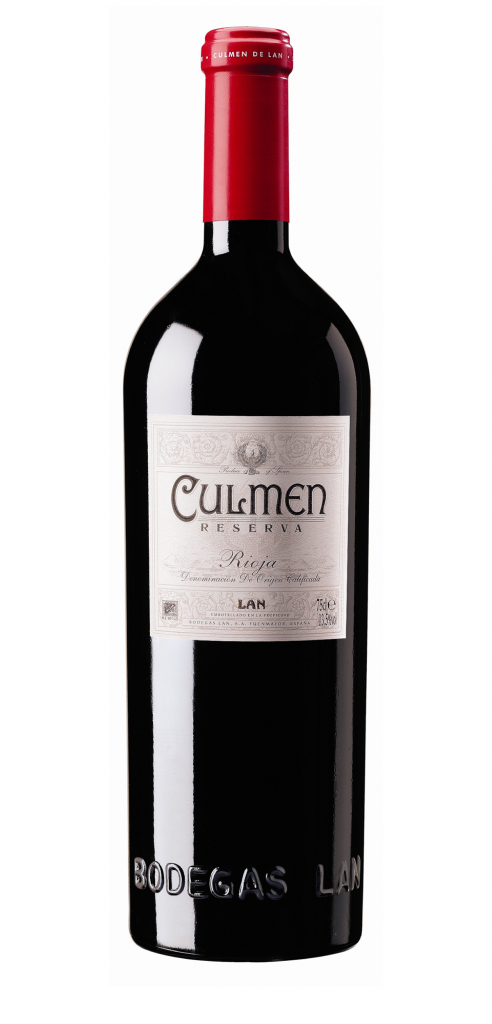 Culmen wine bottle design