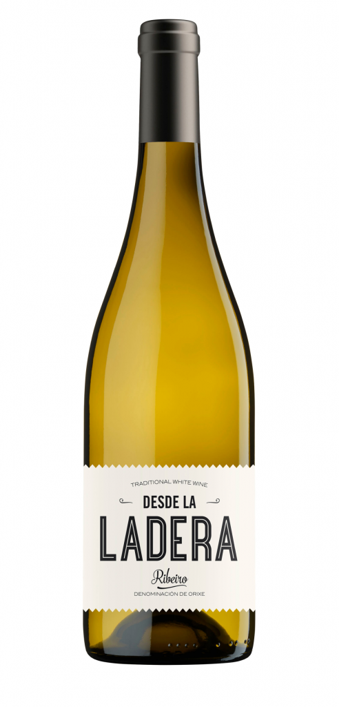 Desde La Ladera wine bottle design
