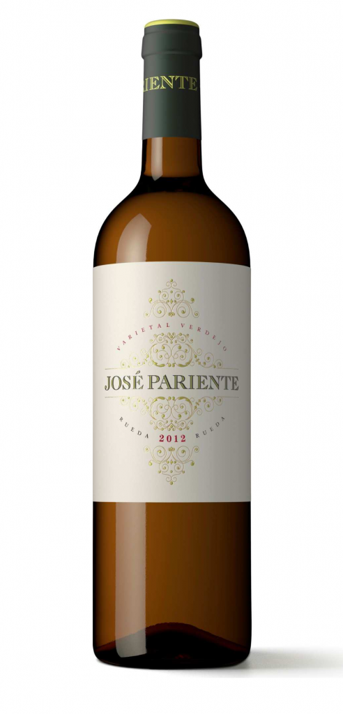 Jose Pariente Verdejo wine bottle design