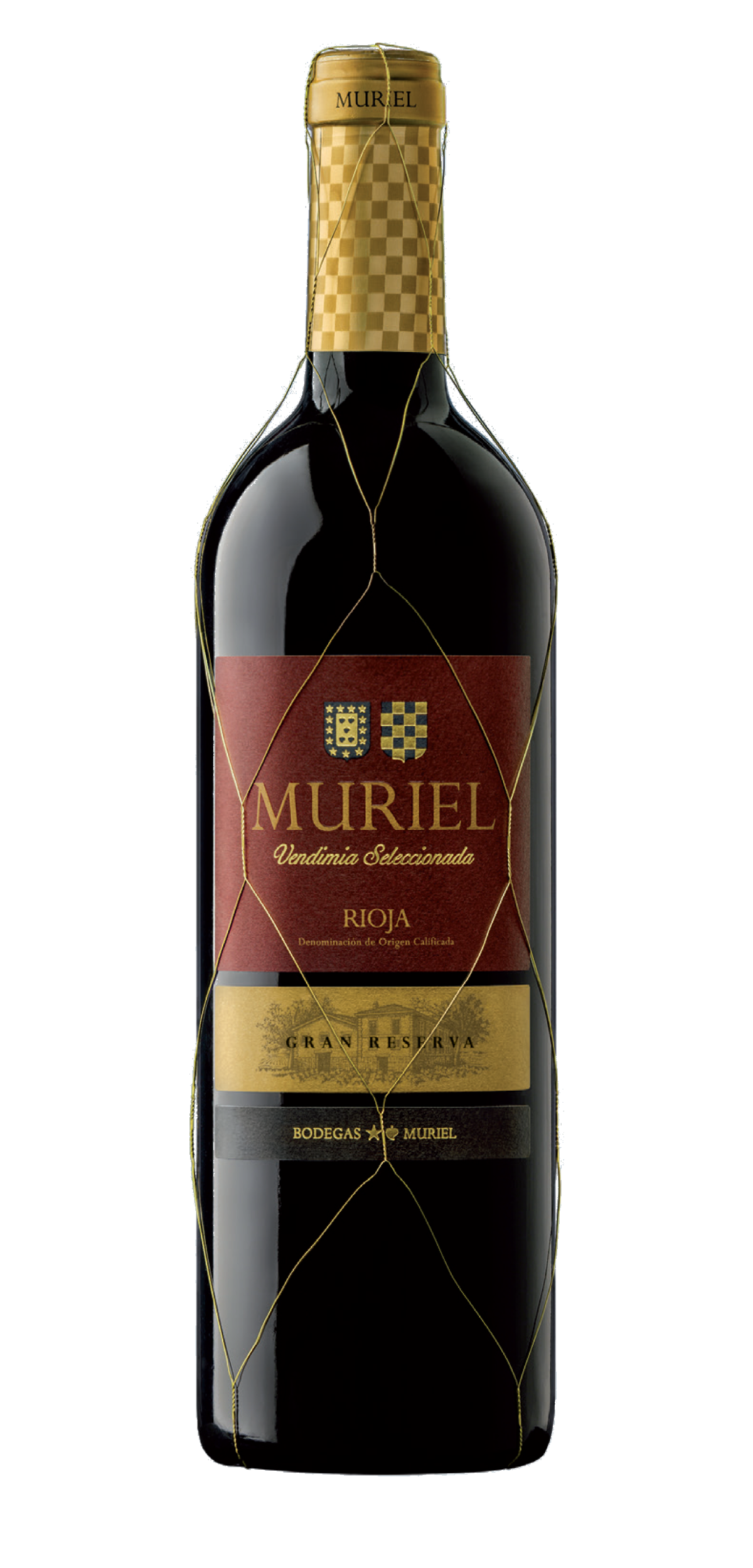 Muriel Vendimia Seleccionada wine bottle design