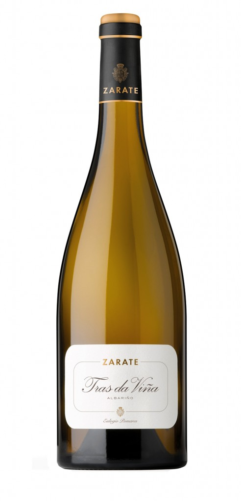 Zarate Tras da Viña wine bottle design