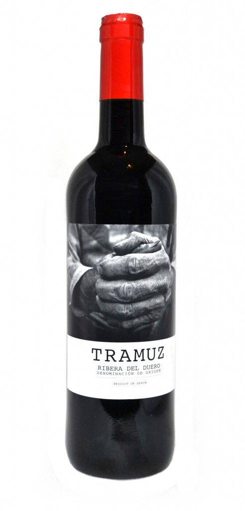 Tramuz wine bottle design