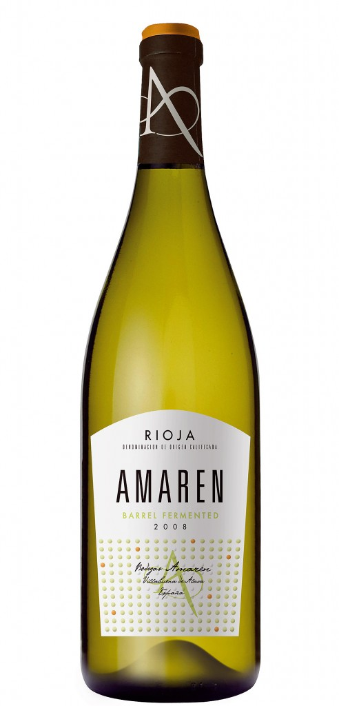 Amaren Barrel Fermented wine bottle design