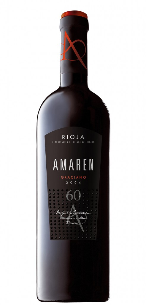 Amaren Graciano wine bottle design