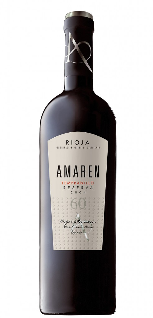 Amaren Tempranillo wine bottle design