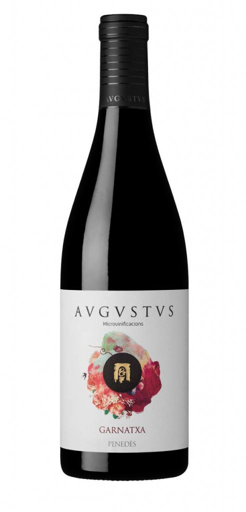 AUGUSTUS Garnatxa wine bottle design