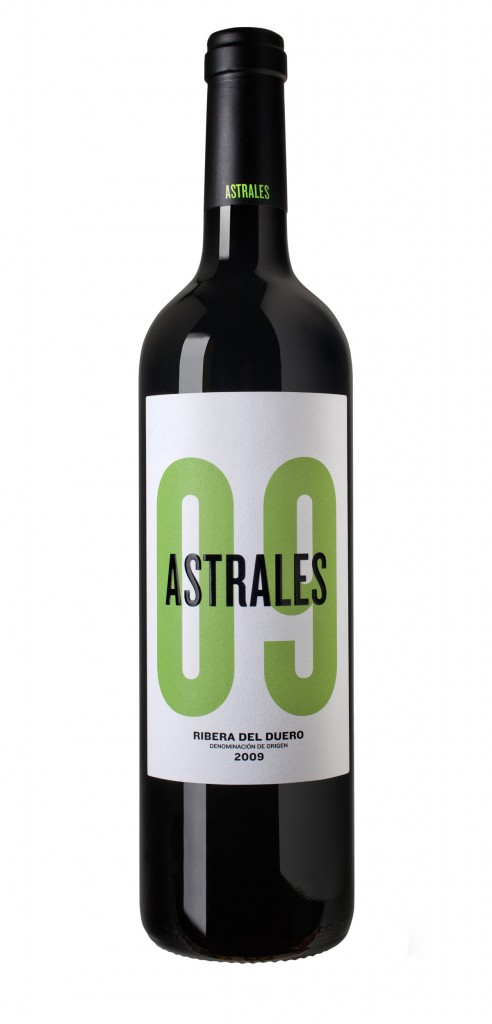 Astrales 09 wine bottle design