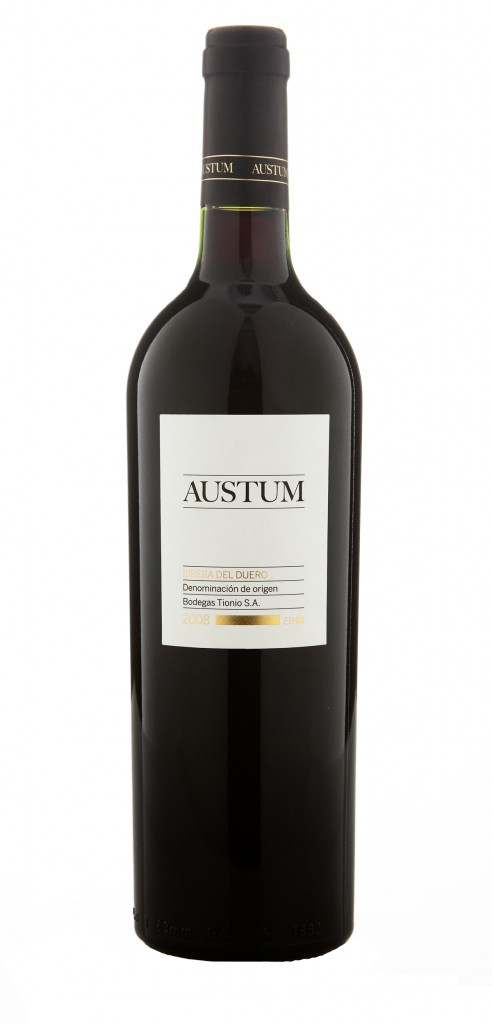 Austum wine bottle design