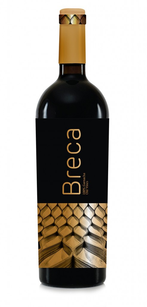 Brecca wine bottle design