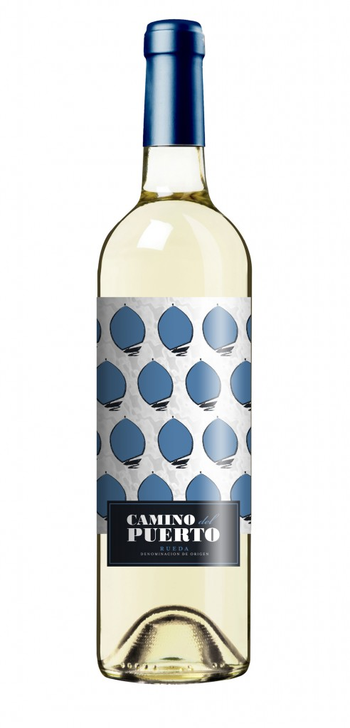 Camino del Puerto wine bottle design