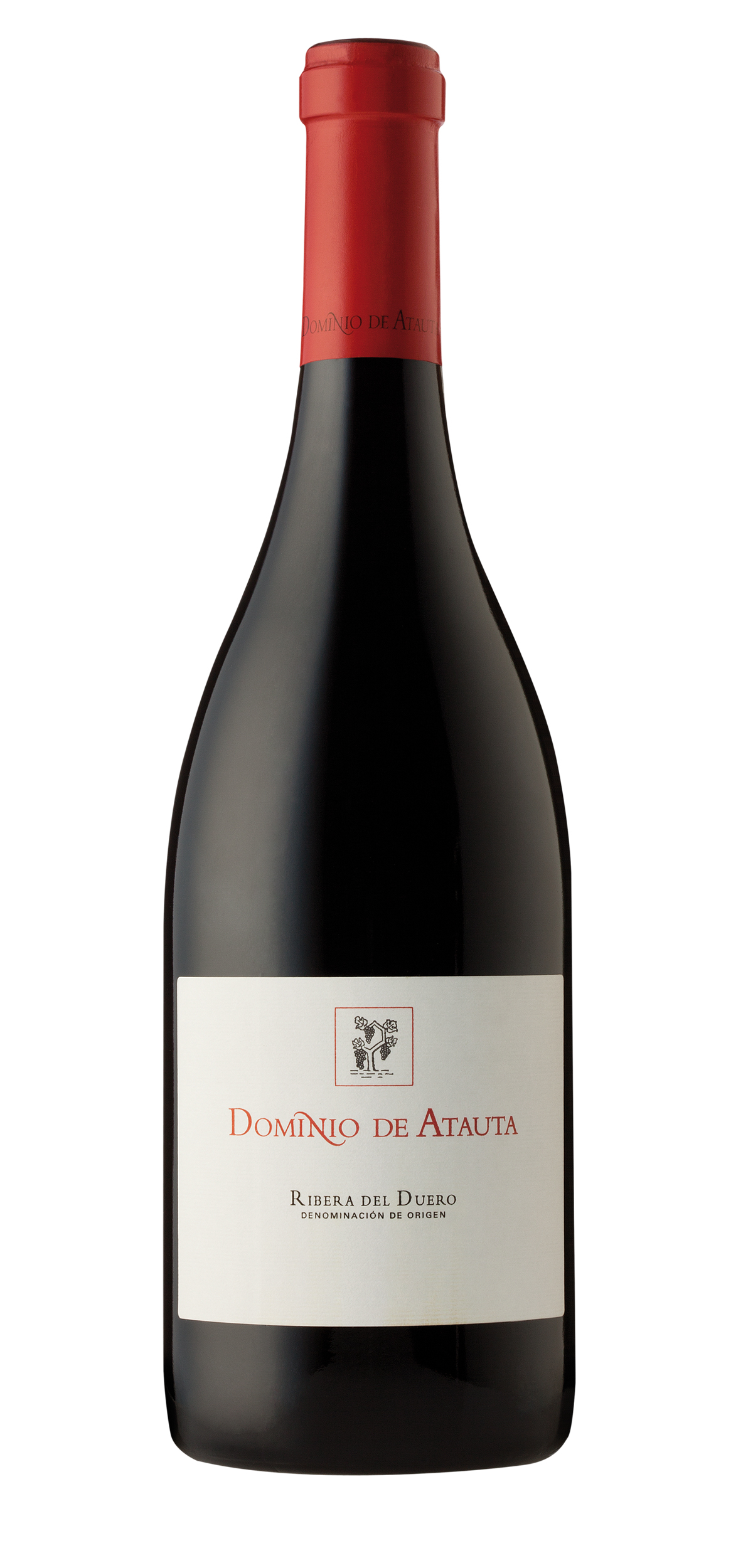 Dominio de Atauta wine bottle design