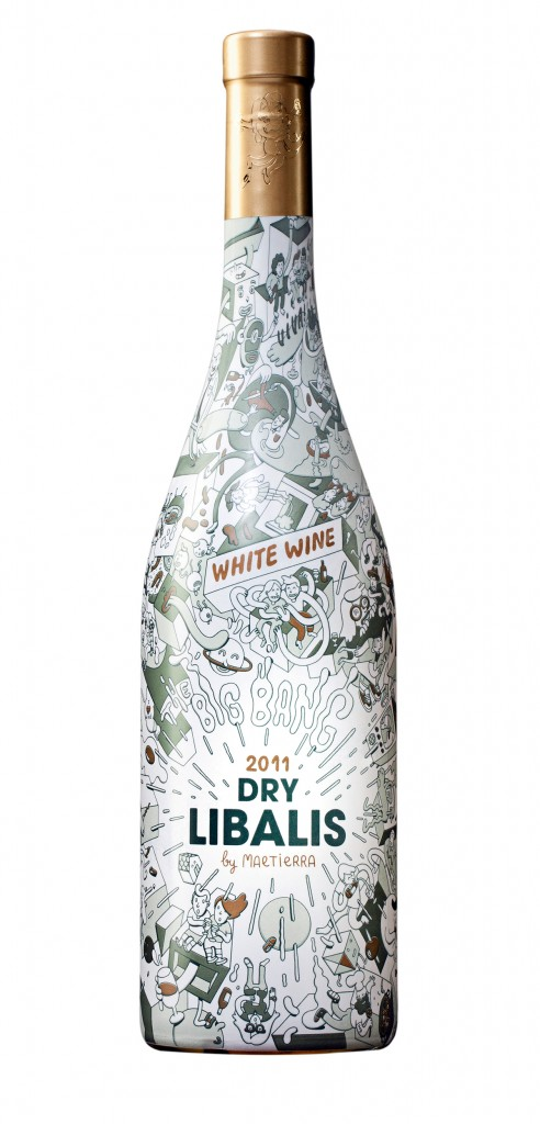 Libalis Dry wine bottle design