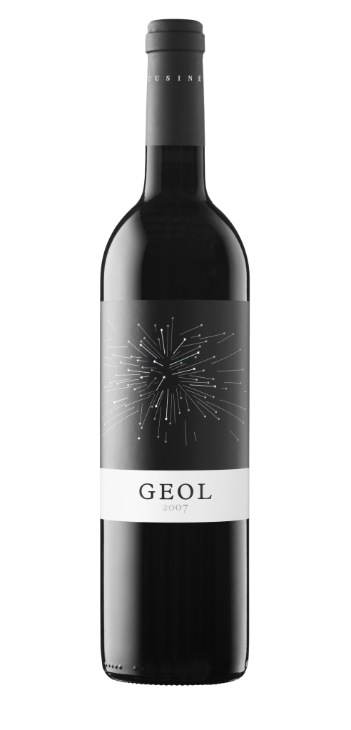 Geol wine bottle design