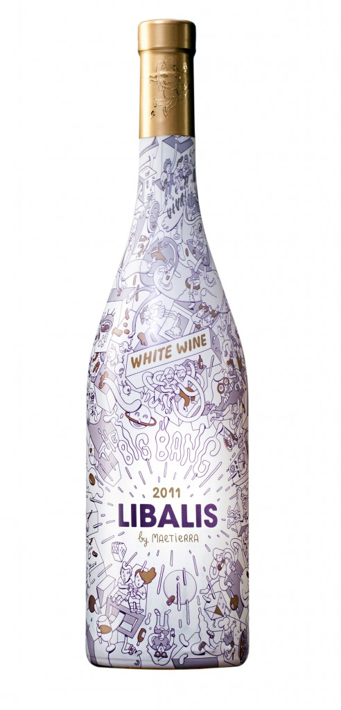 Libalis wine bottle design