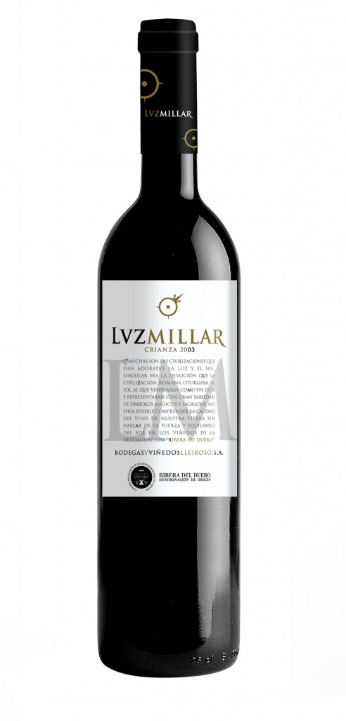 Luz Millar wine bottle design