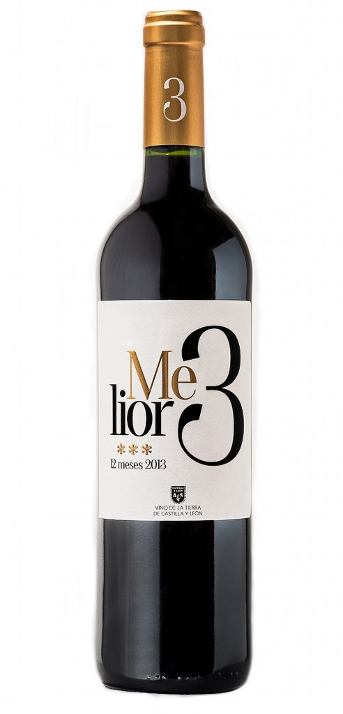 Melior 3 wine bottle design