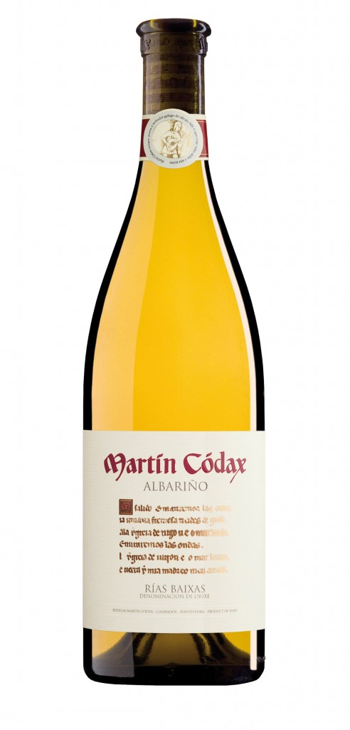 Martin Codax wine bottle design