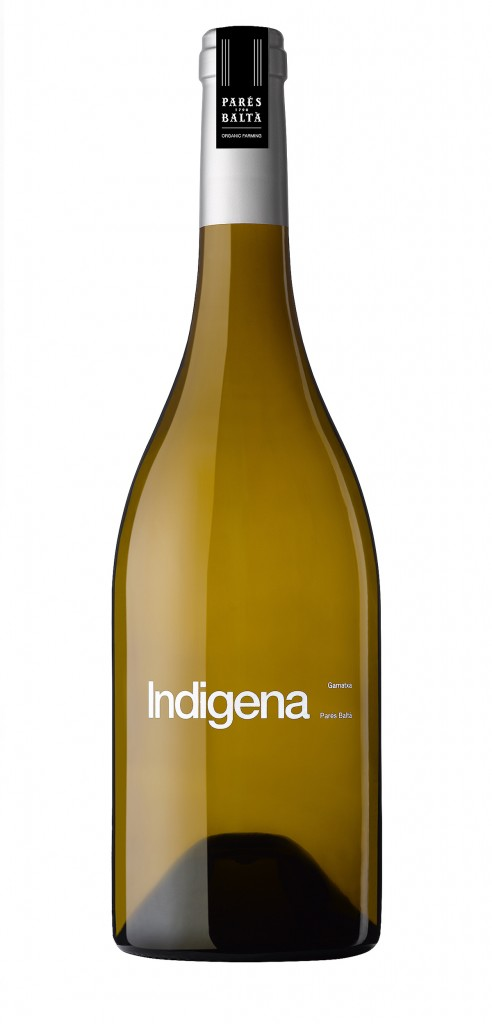 Pares Balta Indigena wine bottle design