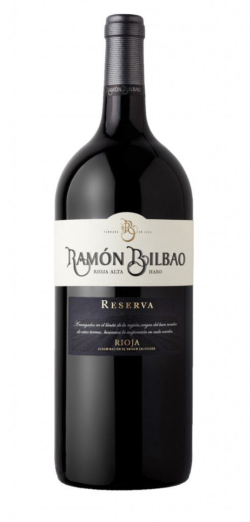 Ramon Bilbao wine bottle design