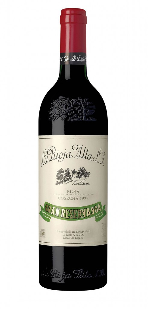 Rioja Alta Gran Reserva 904 wine bottle design