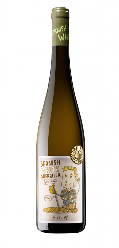 SWG Riesling wine bottle design