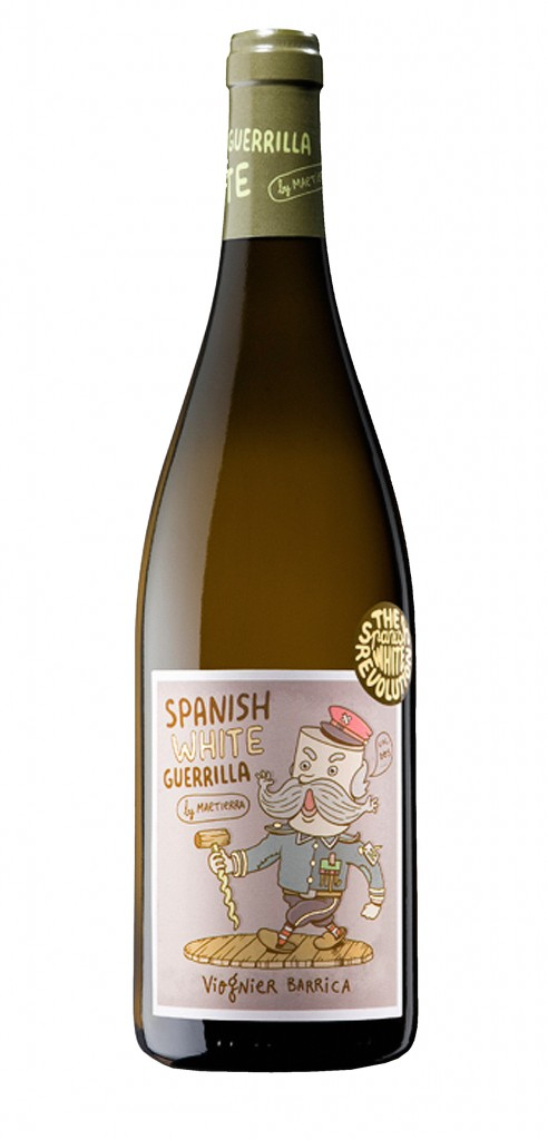 Spanish White Guerrilla Viognier Barrica