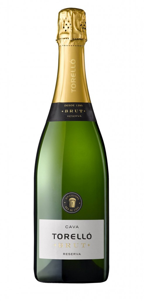 Torello Brut wine bottle design
