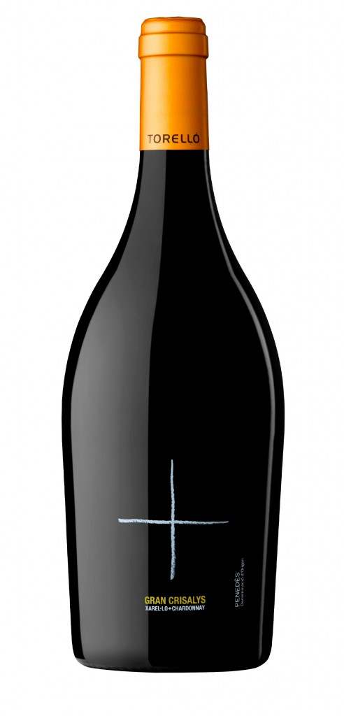Gran Crisalys wine bottle design