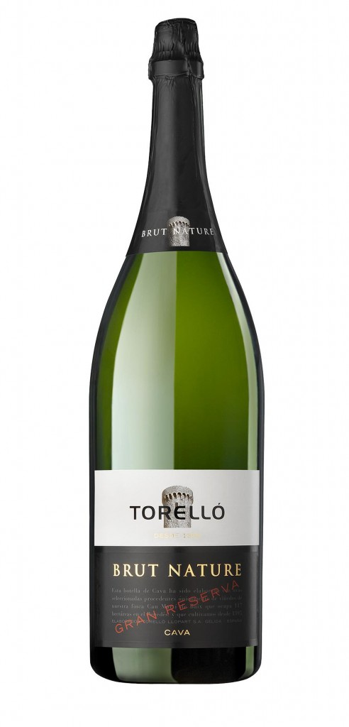 Torello Gran Reserva Magnum wine bottle design