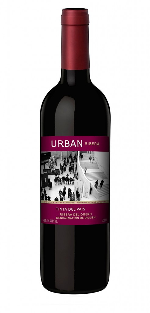 Urban Ribera wine bottle design