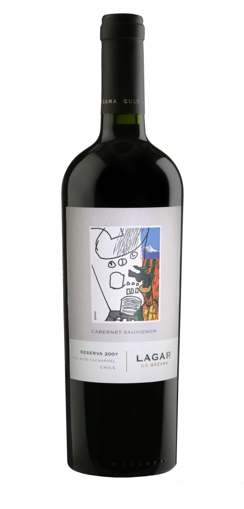 Lagar de Bezana Reserva wine bottle design