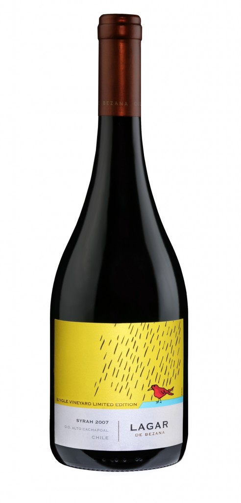 Lagar de Bezana Syrah Limited wine bottle design