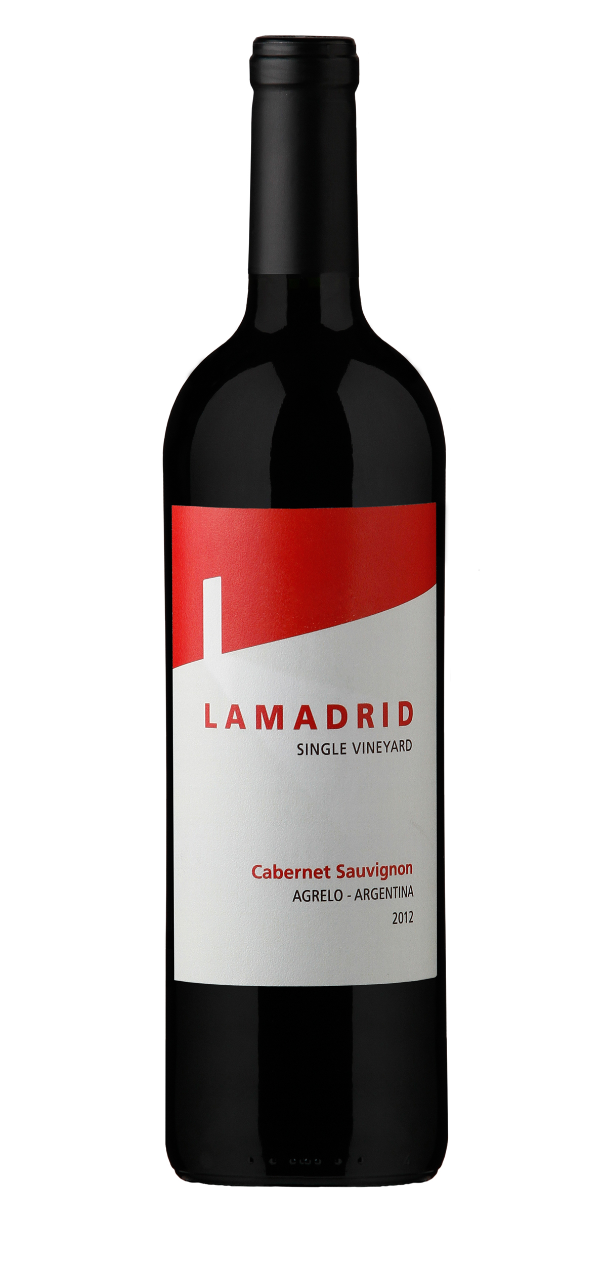 Lamadrid Cabernet Sauvignon wine bottle design