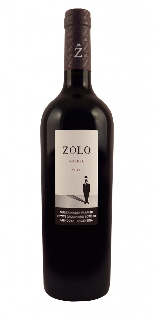 Zolo Malbec wine bottle design