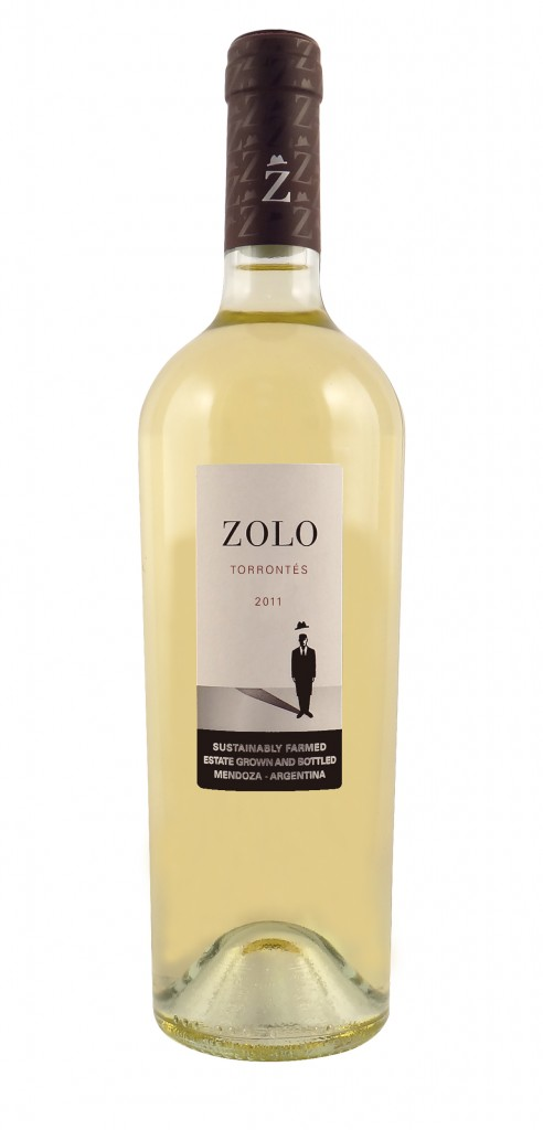 Zolo Torrontes wine bottle design