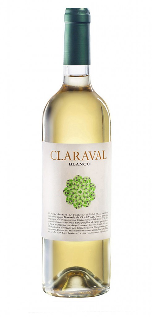 Claraval wine bottle design
